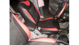 Фото 1 Чехлы на сиденья Союз-Авто Elite-Sport (Экокожа + Алькантара)