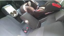 Фото 1 Авточехлы EMC-Elegant Classic EUR (Автоткань) (Черный + Серый) для Dacia Logan