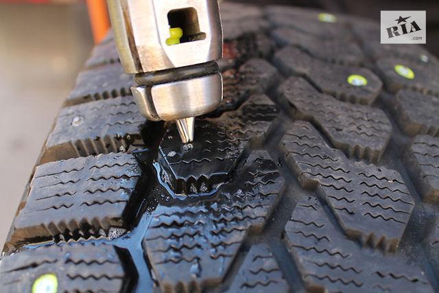 Как самому ошиповать шины