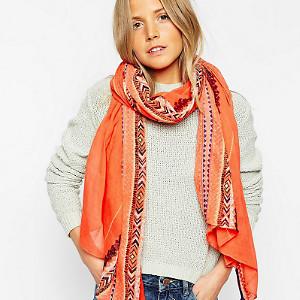 Осінні шарфи