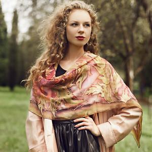 Весенние шарфы