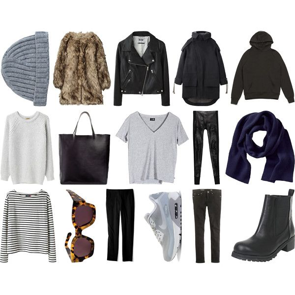 Как подобрать женский гардероб на зиму