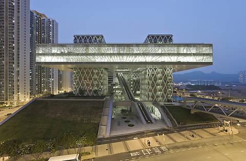 здание института в Гонконге