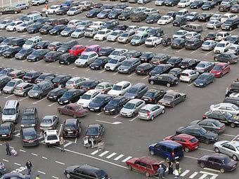 В Киеве открылась первая перехватывающая парковка