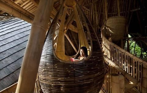 18 домов из бамбука в джунглях Бали выставлены на продажу