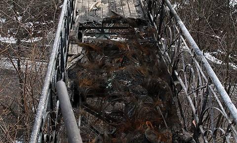 Мост влюбленных в Мариинском парке отремонтирует община Коломыи