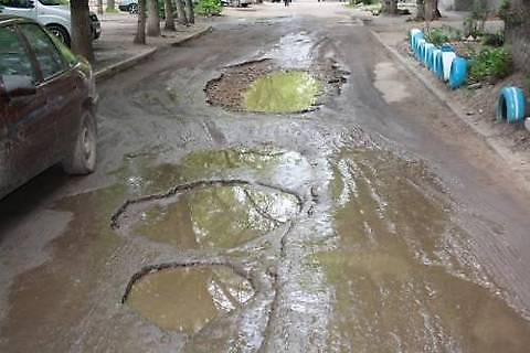 «Укравтодор» определил регионы Украины с наибольшим количеством ям на дорогах