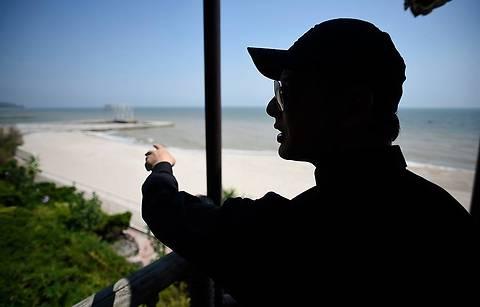Ляшко побывал на даче Януковича на Азовском побережье (фото)