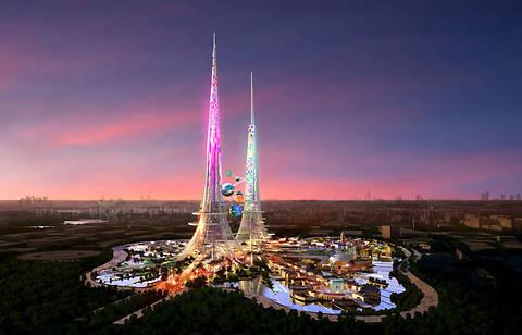 Китай построит небоскреб высотой 1 км