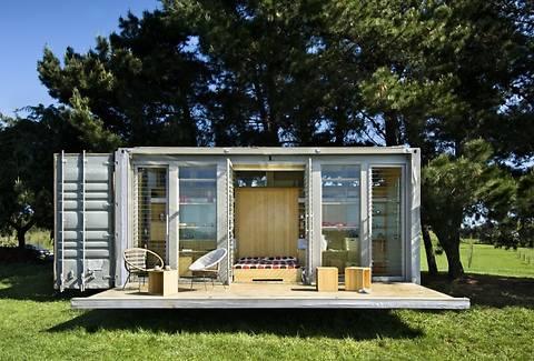 ТОП-5 уютных и креативных домов, построенных из грузовых контейнеров (фото)