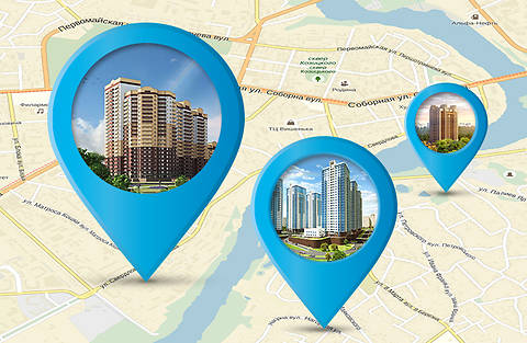 Новостройки вашего города на карте: удобный выбор новой квартиры