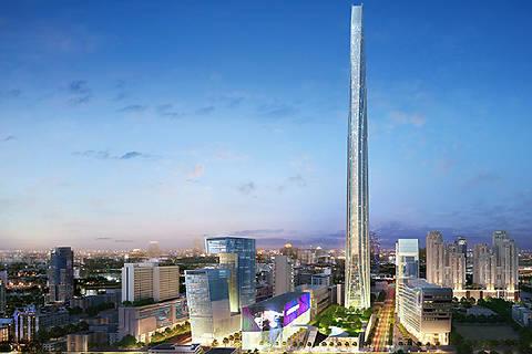 В Таиланде возведут один из высочайших небоскребов мира стоимостью $3 млрд.