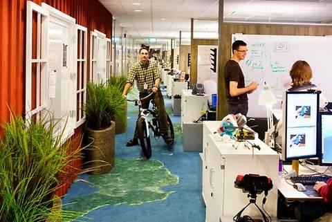 ТОП-8 креативных офисов, из которых не хочется уходить домой