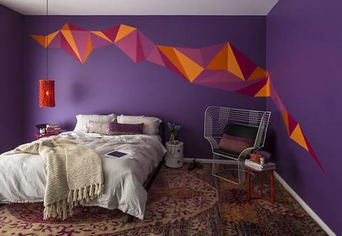 ТОП-6 модных способов покраски стен