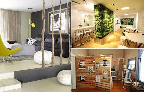 ТОП-10 идей дизайна перегородок для зонирования комнаты