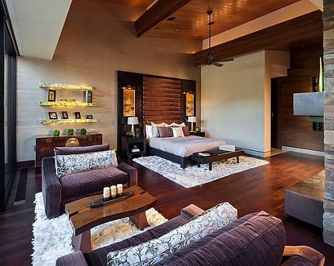Как совместить спальню и гостиную в одной комнате: 4 удачных примера