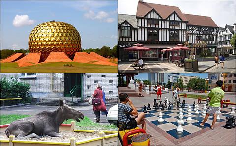 ТОП-10 самых странных городов мира (фото)