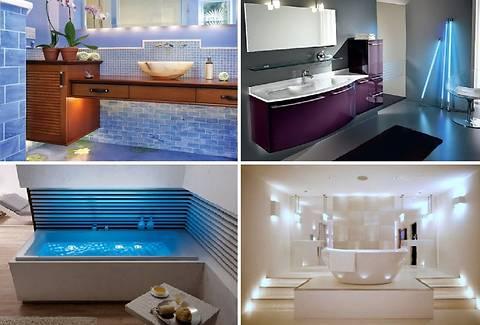 10 идей освещения ванной комнаты