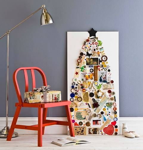 Альтернатива традиционной новогодней елке: 7 креативных вариантов!