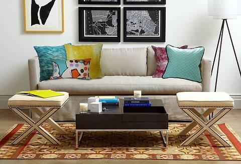 5 способов сделать маленькую гостиную уютнее