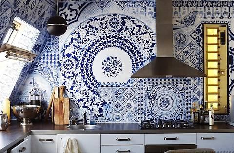 Керамическая плитка в интерьере: 30 лучших примеров