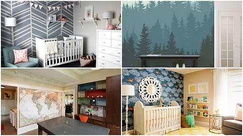 Акцентная стена в квартире: 12 оригинальных решений