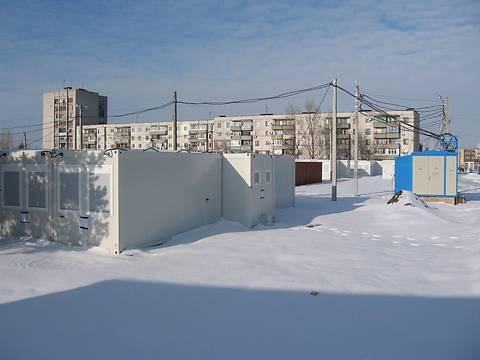 В Павлограде открыт модульный городок для беженцев на 640 мест