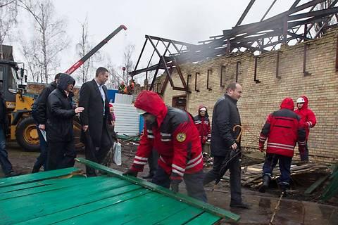 Кличко начал сносить незаконные застройки в Киеве