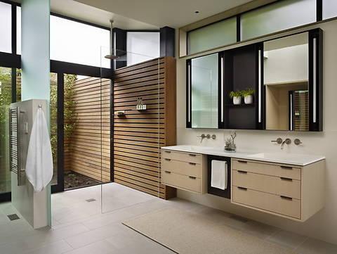 14 примеров ремонта ванной, которые будут популярны в 2015