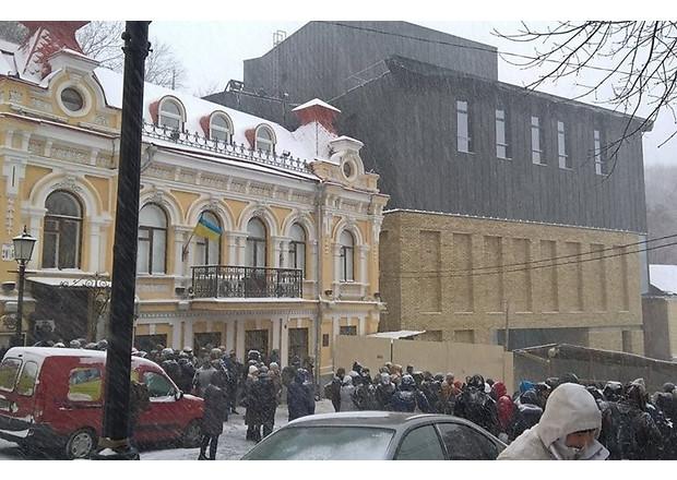 Театр Киев Андреевский спуск