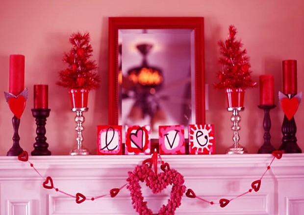 Как украсить квартиру на День святого Валентина