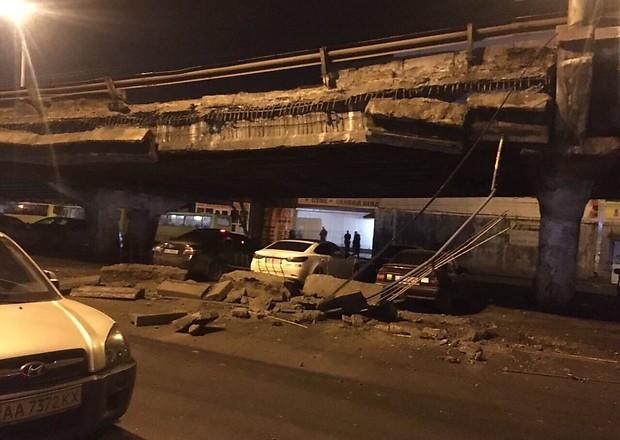 У Києві обвалився Шулявський міст: причини і наслідки