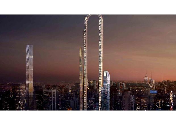 новый небоскреб