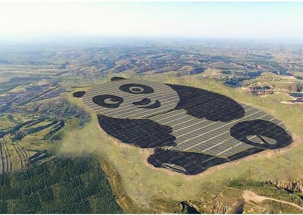 У Китаї побудували електростанцію у вигляді панди