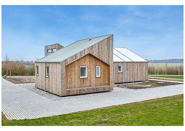 В Дании построили первый в мире дом из отходов