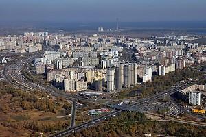 Киев: на Троещине построят новую развязку и многоэтажные паркинги