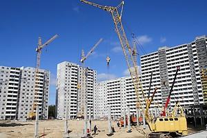 В Украине за 8 месяцев объемы строительства выросли на 6%