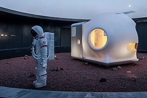 Представлен прототип умного дома для жизни на Марсе (фото)