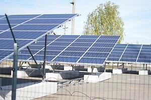 В Чернобыльской зоне официально открыли первую солнечную электростанцию