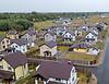 Коттеджные городки на левом берегу вблизи столицы