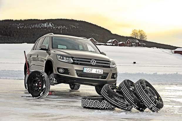 Тест зимних шин для внедорожников
