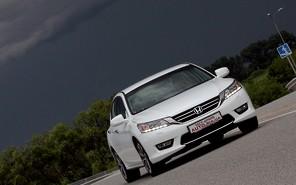 Honda Accord: заокеанские ценности (+видео)