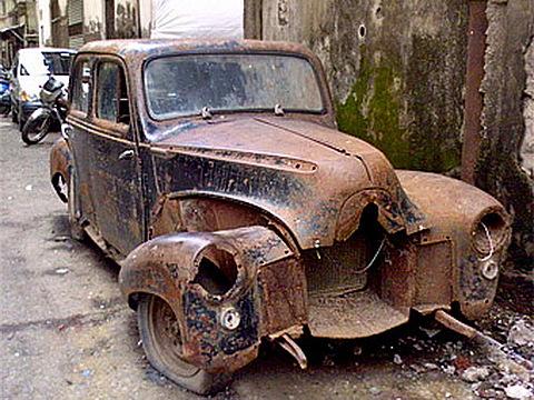 Самая старая машина