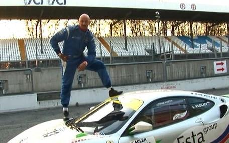Тест-драйв Ferrari F430 Challenge проводит Алексей Мочанов