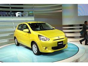 Токийский автосалон 2011: Mitsubishi представила компакт-кар Mirage