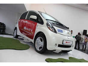 Электрокар Mitsubishi i-MiEV привезли в Украину