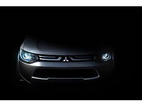 Mitsubishi показал «лицо» будущего электрокара