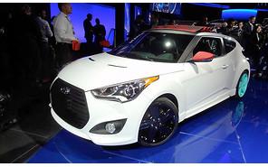 Hyundai Veloster представили с «откидным» верхом