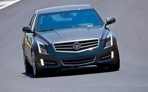 «Заряженный» седан Cadillac ATS получит 500 лошадей