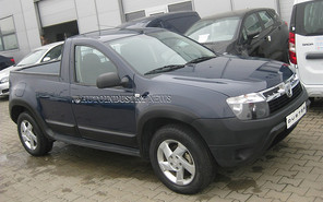 Dacia Duster превращается в пикап